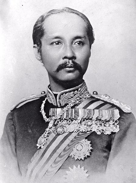Koenig Chulalongkorn Rama V.