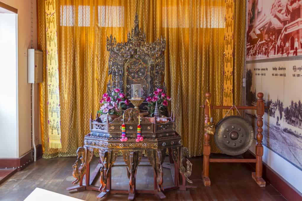 Stuhl für einen hochrangigen Mönch