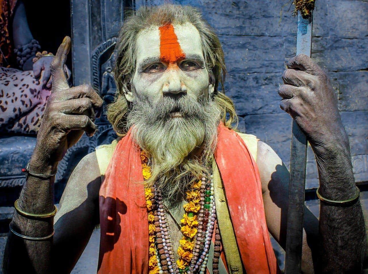 Farben spielen im Hinduismus eine große Rolle