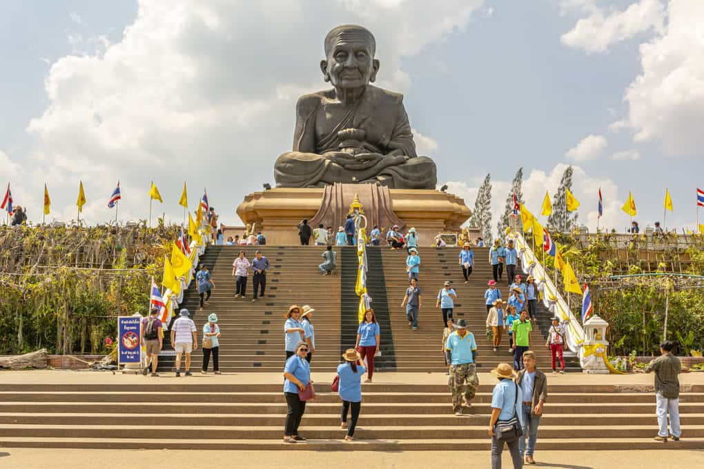 Statue im Wat Huai Mongkhon in Hua Hin - Prachuap Khiri Khan
