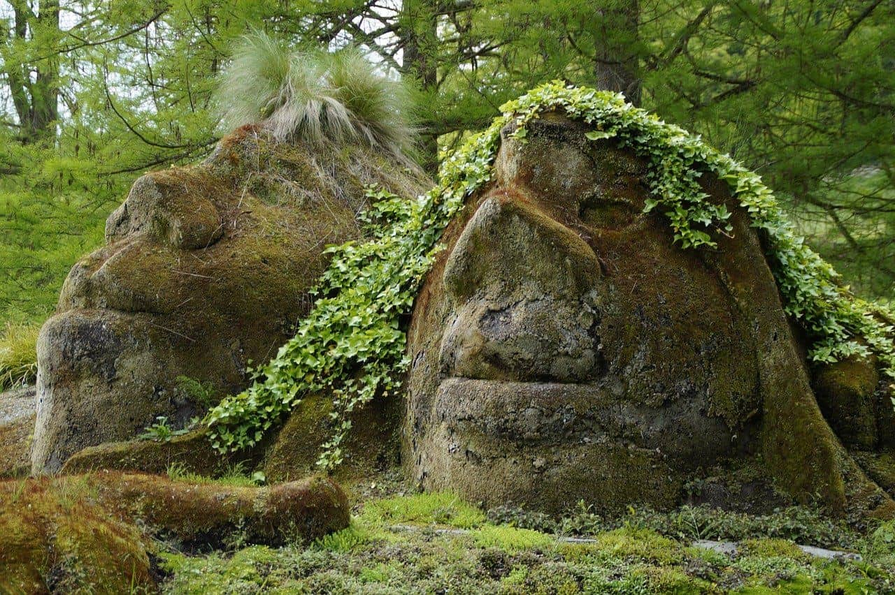 Naturglauben Abbildungen - wie entstand der Buddhismus