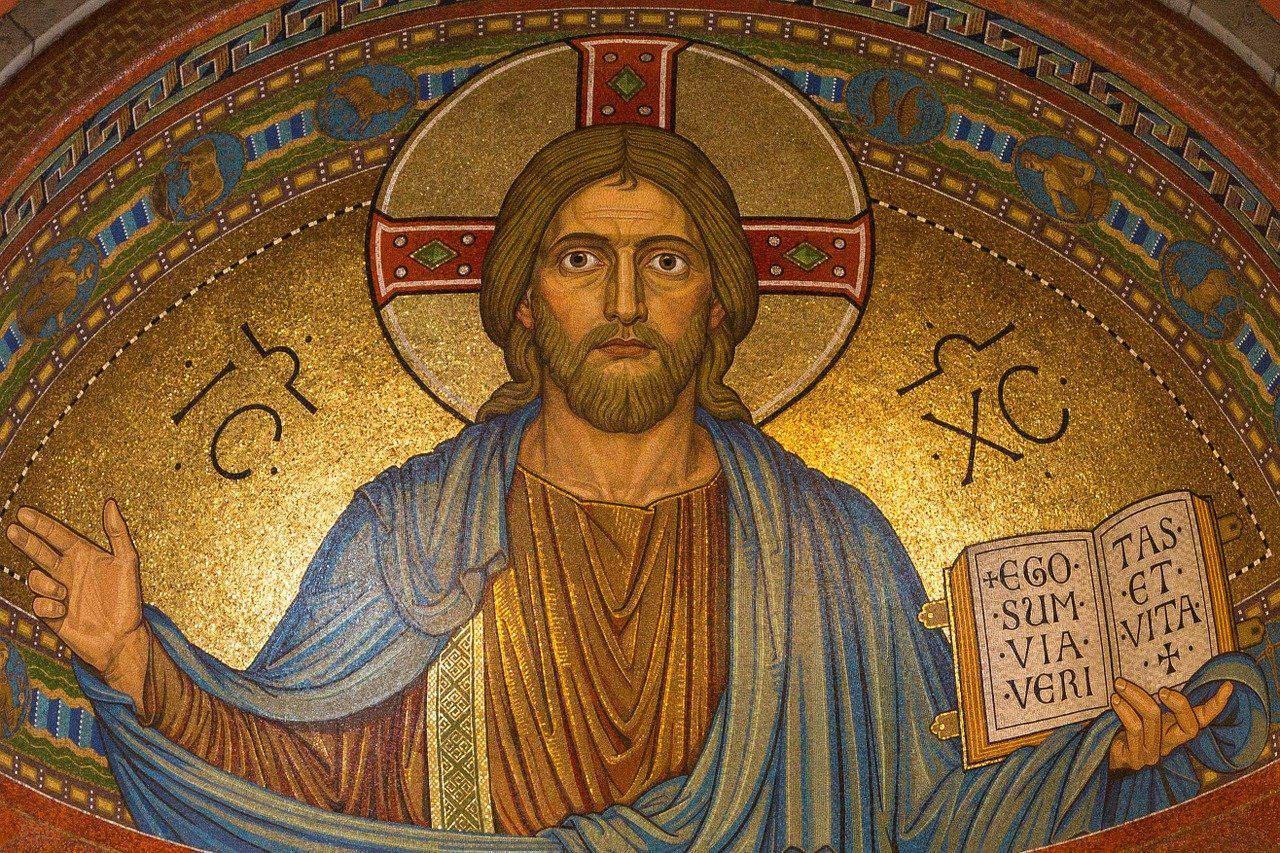 Bild Jesu - wie entstand der Buddhismus