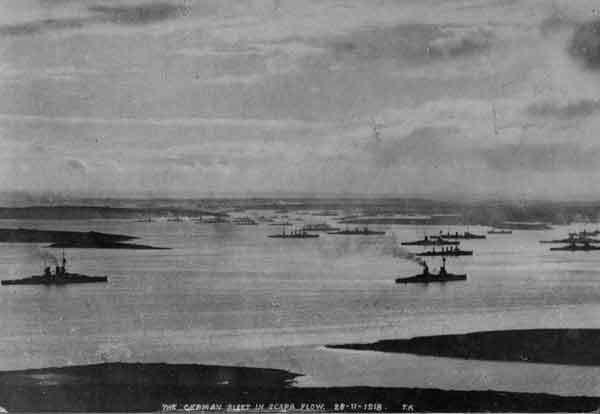 Kaiserliche Flotte in Scapa Flow