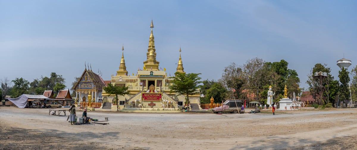 Wat Si Mahapho Panorama