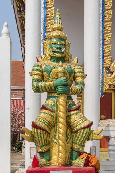 Yaksha am Wat Si Maha Pho
