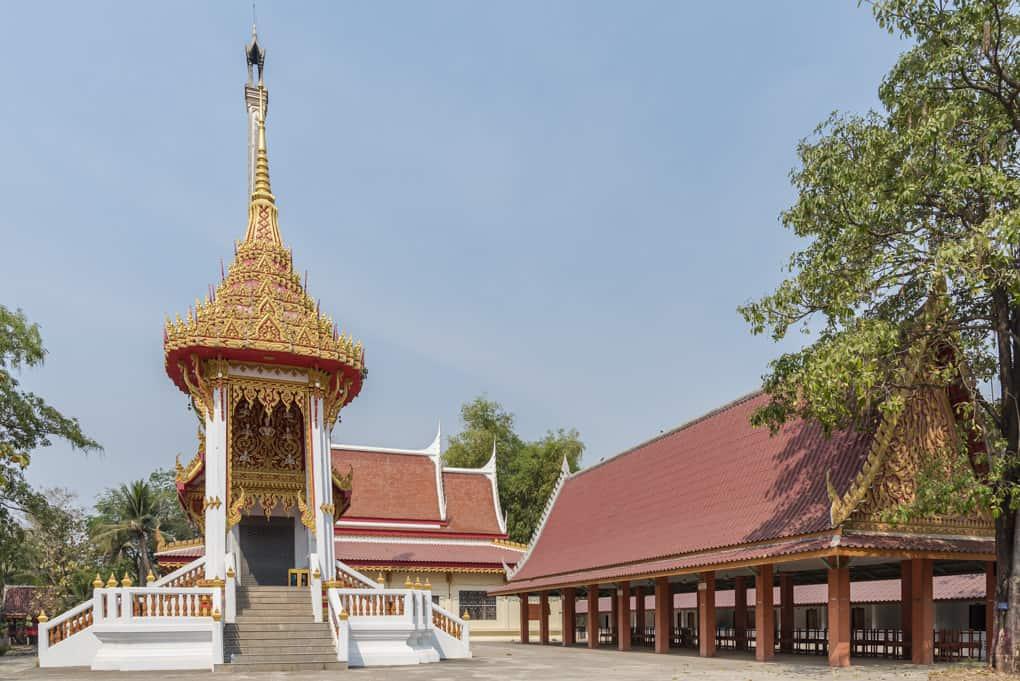 Krematorium des Wat Si Maha Pho