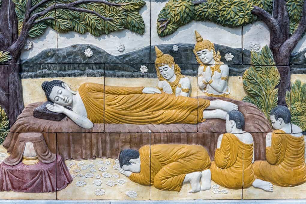 Buddha und seine Jünger