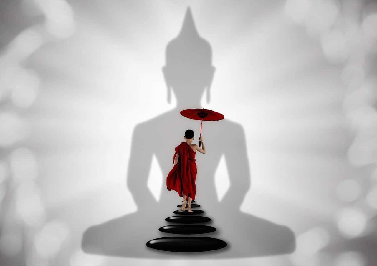 Wie werde ich ein Buddhist?