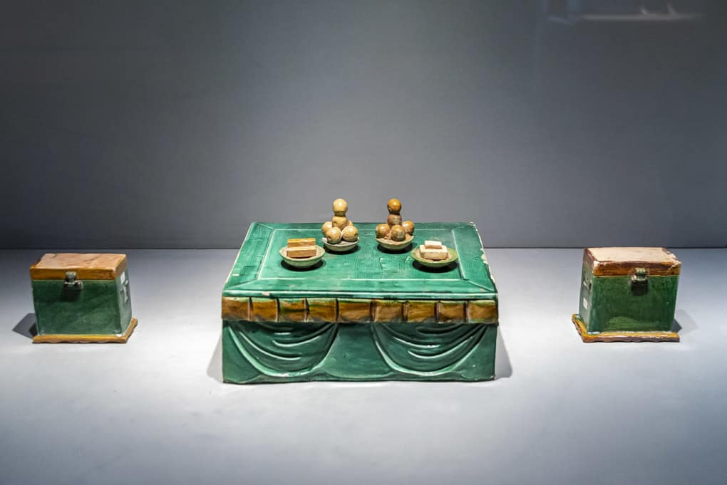 Opfergabe aus der Ming Dynastie im Museum Ostasiatische Kunst