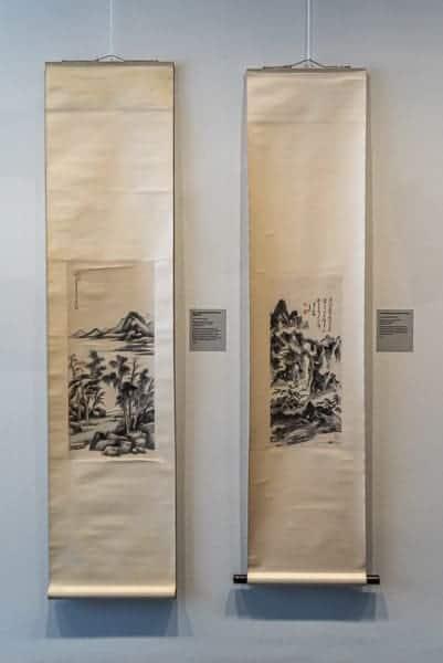 Hängerollen - chinesischer Malerei - Museum Ostasiatische Kunst Köln