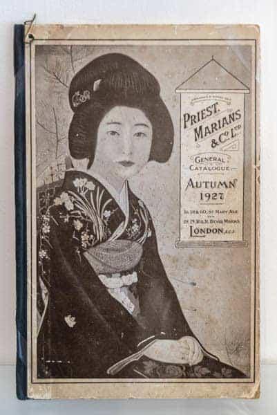 Japanischer Exportkatalog für Porzellan - Museum Ostasiatische Kunst Köln