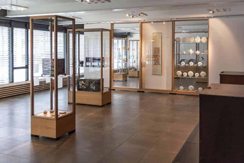 Überblick über die Ausstellung über Korea