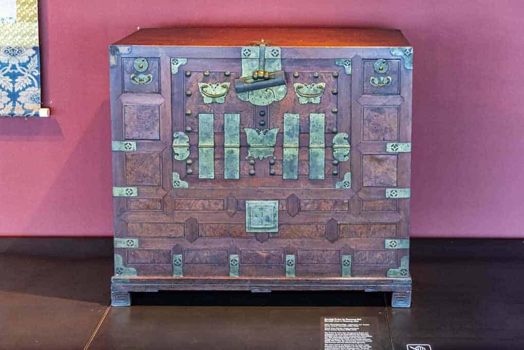 koreanisches Möbel - Museum Ostasiatische Kunst Köln