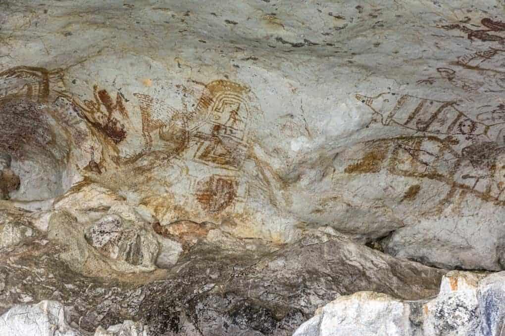 Khao Kian Felsenmalereien