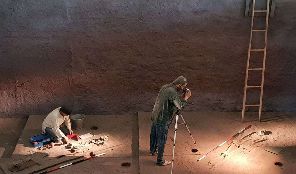 Prähistorische Funde im heutigen Thailand