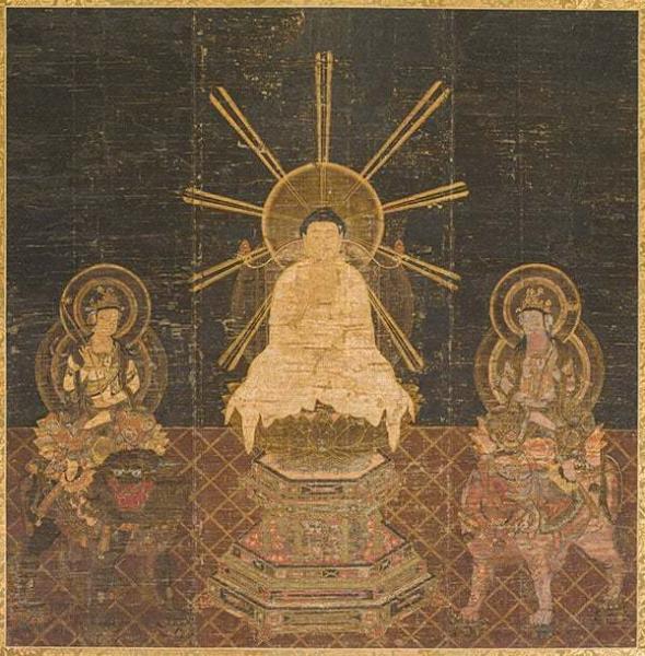 Shakyamuni Triade