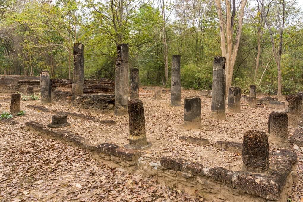 Wat Aranyik in Sukhothai