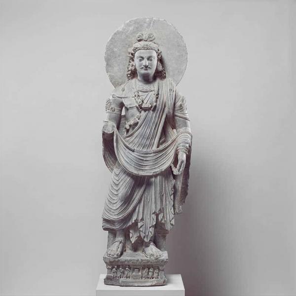 stehender Buddha der Zukunft - Maitreya